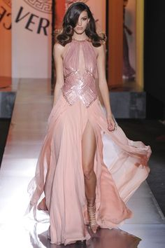 Bridal Inspiration; Couture Fashion Week Autumn/Winter 2012 Versace