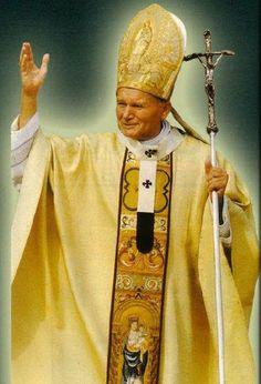 BENDICION Catholic Prayers, Catholic Saints, Roman Catholic, Paul 2, Pope John Paul Ii, Pape Jeans, Juan Pablo Ll, Saint Teresa Of Calcutta, Holy Mary