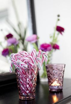 Rock candy that makes a perfect treat for your mantle.