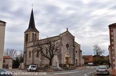 Chiesa di Lentigny, comune francese gemellato con Benna (Biella) http://www.sphimmstrip.com/2014/03/pictures-of-lentigny-gemelliperlacqua.html?m=1 #gemelliperlacqua