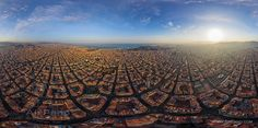 Cells of Barcelona #5. Spain • AirPano.com • Photo