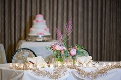 Fall in Love with Pink at this Intimate Manor Wedding - MODwedding