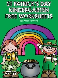 St Patrick's Day Kindergarten Worksheets (free; from United Teaching)