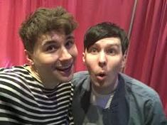 Image result for dan and phil