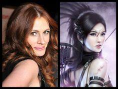 Harem Goddess, Lady Glady ~ played by Julia Roberts. Julia Roberts, Richard Armitage, Sisters, Wonder Woman, Lady, Wonder Women, Daughters, Big Sisters