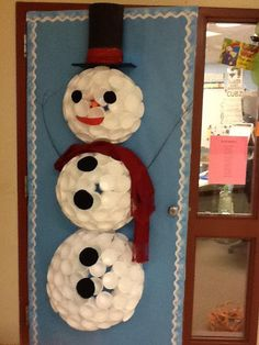 Christmas Door Decorating Decor Contest.  Calvin would love this.  We could do it on the furnace closet door on the patio!
