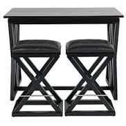z gallerie x base folding counter-height  table