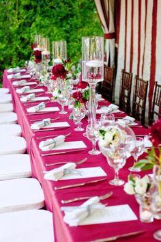 30 Fabulous And Vibrant Fuchsia Wedding Ideas | Weddingomania www.weddingplanneralgarve.com