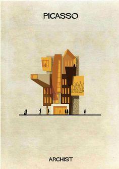 Y si Picasso o Mondrian hubieran sido arquitectos?  De niño, Federico Babina se divertía colocando la cabeza entre las piernas para observar el mundo del revés. Era uno de sus juegos favoritos. «La vida creativa es un poco como ese juego: mirar las cosas, incluso las más simples, con una perspectiva diferente para descubrir matices inesperados», dice a Yorokobu. Babina suele capturar ese […]
