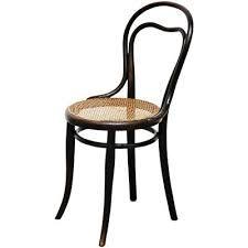 Sedia in vimini e legno di Thonet, anni '30 in vendita su Pamono