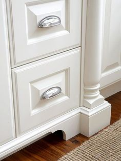 Adding feet and molding to cabinets | MOULDINGS & TRIM ...