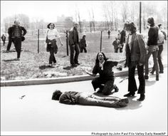 Kent State 1970    When President Richard Nixon said he was sending troops to Cambodia, the nation's colleges erupted in protest. At Kent State some threw rocks. The Ohio National Guard, called in to quell the turmoil, suddenly turned and fired, killing four; two were simply walking to class. This photo captured a pivotal moment: American soldiers had just killed American kids. Student photographer John Filo won the Pulitzer; the event was also memorialized in a Neil Young song and a TV…