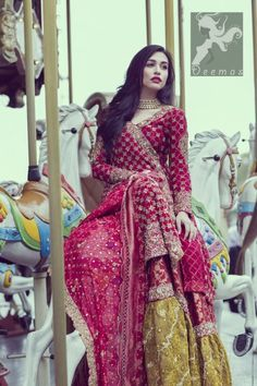 Check out latest Pakistani bridal nikah dresses collection There are varieties in Nikah dress designs. multi-colored as well as white Nikah dress on the wedding ceremony. Pakistani Couture, Pakistani Wedding Dresses, Pakistani Outfits, Anarkali Bridal, Pakistani Mehndi Dress, Wedding Lehanga, Bridal Dupatta, Indian Couture, Bridal Mehndi