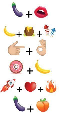 Emoji Lustige Kombinationen