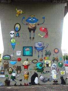 Open Museum of Urban Art ~ São Paulo, Brazil Ailleurs communication, www.ailleurscommunication.fr Jeux-concours, voyages, trade marketing, publicité, buzz, dotations