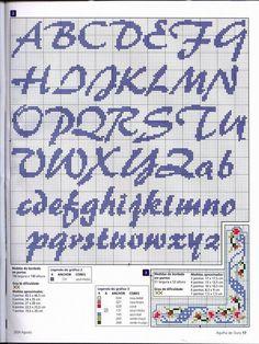 Avete schemischemi di lettere a punto croce? : Forum Maternità - Il bimbo è nato…