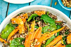 Supergrains with Moroccanspiced carrots recipe, NZ Womans Weekly – These ancient grains quinoa and amaranth are nutritional powerhouses ampndash not to mention they give salads an interesting taste Serve with grilled chicken or crumble over feta if you like The recipe calls for a cup of quinoa but you can mix a bit of amaranth in thereampnbsp – bite.co.nz