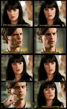 Criminal Minds moments....like this!