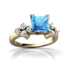 Genuine Blue Topaz 14ct Yellow Gold Engagement Ring - Size N Jewels For Me, http://www.amazon.co.uk/dp/B0007XW3L4/ref=cm_sw_r_pi_dp_Jy0ntb0P8T4E9