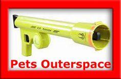 Dog Tennis Ball Launcher Thrower Fetch K9 Kannon Hyper Pet Toy Outdoor Active