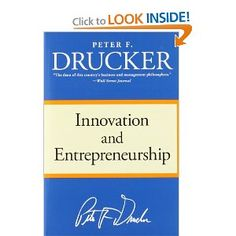 Innovation and Entrepreneurship. My first Peter Drucker experiences. Made me fall in love with both innovation and entrepreneurship. You will know the examples from many other books and speakers - Peter was the original.