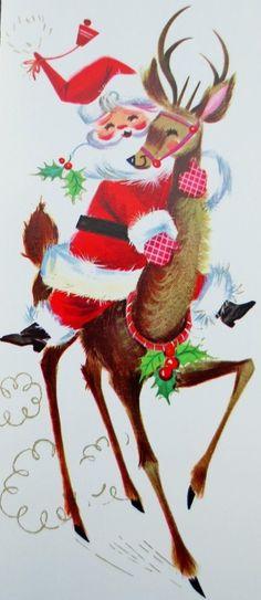Santa hitches a ride