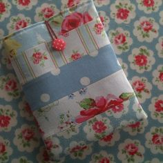 SALE Handmade Patchwork Kindle ereader sleeve in Cath Kidston Fabrice £10.50