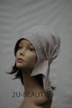White felt Designer hat Felted hat Unique felted hat by 2UBEAUTY
