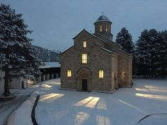 Kosovo is home to this incredible beauty: The 14-century Serbian Orthodox Monastery in Decan, a UNESCO World Heritage Site. Photo by Decani Monastery.