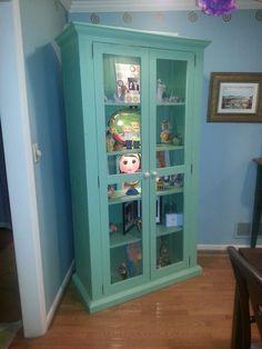 Fun dinning room cabinet