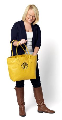 5667dbb829dd Monogrammed Personalized Mustard Yellow by FreckledFaceBoutique Fashion  Handbags