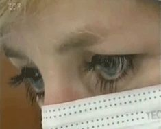 Are those Princess Diana's fake eyelashes?: