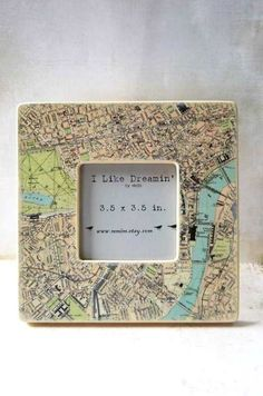 Central London  Frame by Mmim on Etsy, $16.00