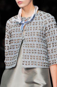 Emporio Armani at Milan Fashion Week Spring 2014 - StyleBistro