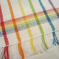 Rainbow tea towels