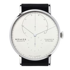 Lambda Weißgold sapphire crystal back | Beautiful watches purchased online. Directly from NOMOS Glashütte.