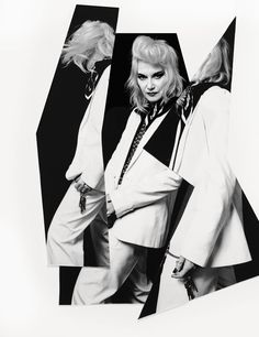 """Pam Hogg Photography and artwork Quentin Jones  """"Recognize what you have to offer. Make sure it's more than a whim or you're wasting your time."""""""