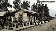 El Gran Ferrocarril de Venezuela. Estación Antímano. Caracas 1890   #HistoFotoVE