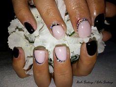 Diário Feminino: Unhas De Gel   Trabalho de Nails Santiago #1