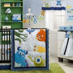 Monsters Inc 4 Piece Premier Crib Bedding Set Disney Baby Nurseriesdisney