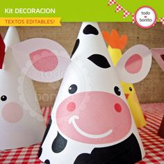 Granja niños: decoración de fiesta para imprimir Farm Birthday, First Birthday Parties, First Birthdays, Barnyard Dance, Art For Kids, Crafts For Kids, Western Parties, Farm Theme, Farm Party