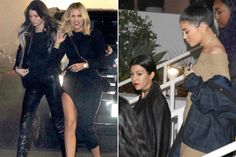 Khloé Kardashian Shows Off Killer Bod While Attending The Weeknd Concert with Her Sisters