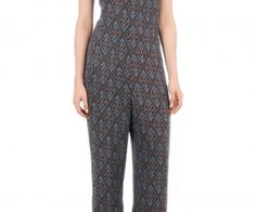 Diamond print racer back jumpsuit. Flouncy ties sway from the elegant high neck of our gorgeous racer-back chiffon jumpsuit - See more at: http://spenditonthis.com/cat-13-fashion-newest.html#sthash.w5qQhEjP.dpuf