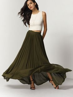 62b7045198 43 Fascinating PLEATED MIDI SKIRT images in 2019