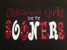 Oklahoma Sooners shirt personalized