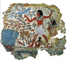 Pond in a Garden : Tomb of Nebamun : circa 1350BC : Egypt... https://www.amazon.com/dp/B072FL5PCY/ref=cm_sw_r_pi_dp_x_obQYzbT7AF4CW