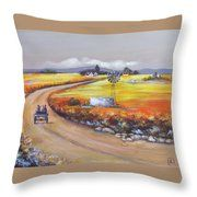 Farm Road Throw Pillow Farm Cottage, South African Artists, Original Paintings, Instagram Images, Tapestry, Throw Pillows, Wall Art, Canvas, Artwork