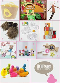 Easter Basket Ideas for the Littles #atepinningparty