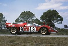 Ferrari 512S at Sebring 1970 | For ten hours Arturo Merzario… | Flickr