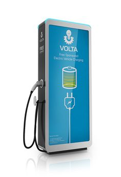 Ev charging station - volta by raul gonzalez podesta, via behance tesla charging stations, Ev Charger, Electric Car Charger, Electric Cars, Tesla Charging Stations, Electric Charging Stations, Techno, Electric Station, Garage, Digital Signage